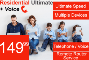 Residential Ultimate Internet Speed with Voice